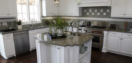 kitchen remodel island project